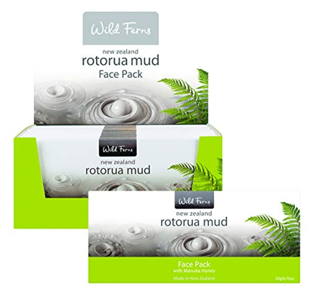 無関心なに決してRotorua Mud Face Pack with Manuka Honey 20g