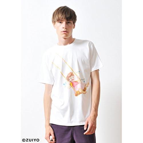 ( グラニフ ) graniph コラボレーション Tシャツ / アルプスの少女ハイジ ( 箱根彫刻の森美術館 ) ( ホワイト ) L