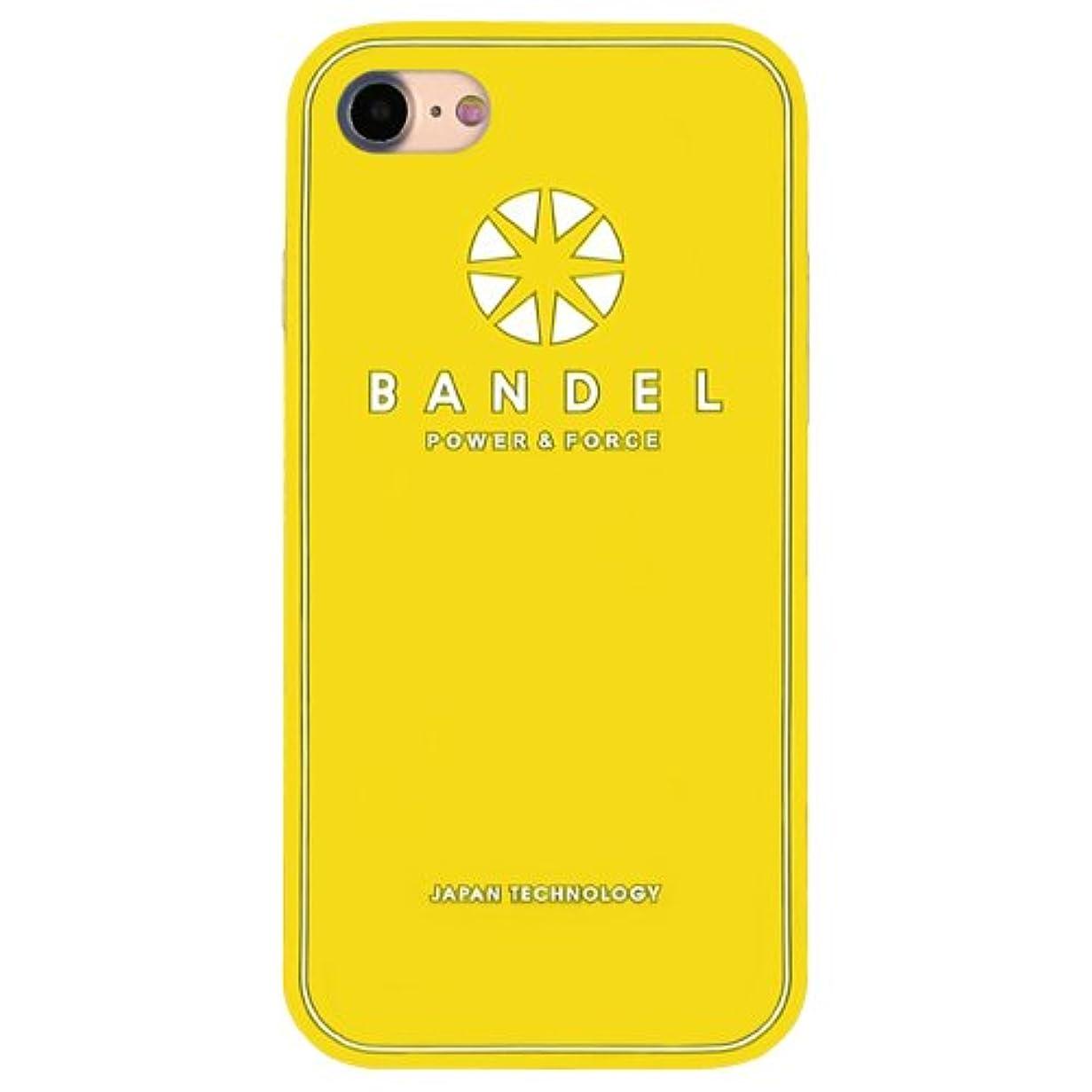 生きるアノイバンバンデル(BANDEL) iPhone7ケース ロゴ イエロー [iPhone7用シリコンケース]