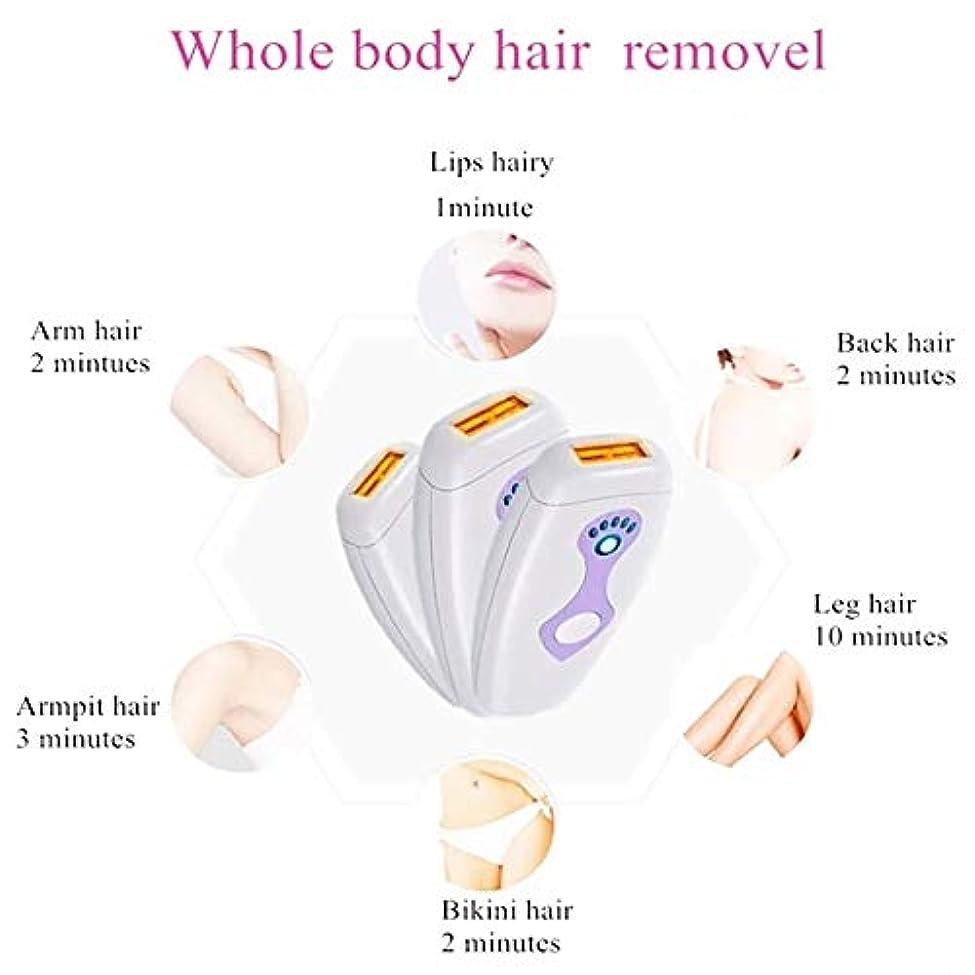 委員会浴室かすかなヘアリムーバーフェイシャルリムーバー女性のスレッド脱毛器、痛みのない恒久的なIPL脱毛装置、500000点滅プロフェッショナルライト脱毛器