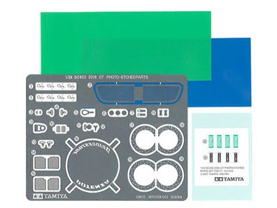 ディテールアップパーツシリーズ(カーモデル用  1/24SC430 2006GT仕様 エッチングパーツセット)