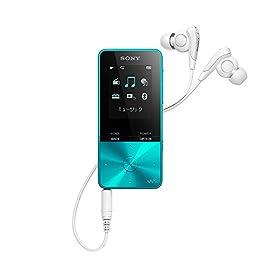 ソニー SONY ウォークマン Sシリーズ NW-S315 : 16GB Bluetooth対応 イヤホン付属 2017年モデル ブルー NW-S315 L