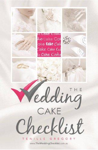 amazon the wedding cake checklist the wedding planning checklist