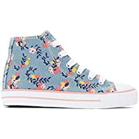 La Redoute Collections Girls Canvas High Top Trainers