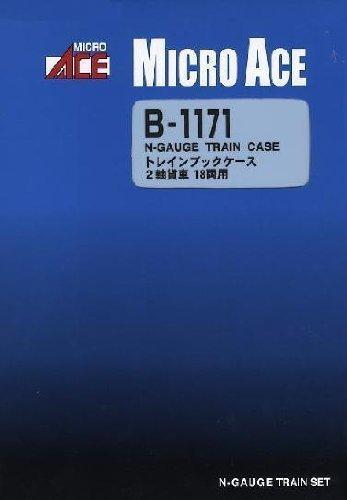 Nゲージ B1171 トレインブックケース 2軸貨物 18両用