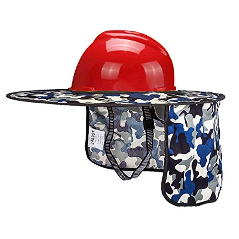治すなす面積作業用ヘルメット-Hard Hats- サンシェードヘルメット - 紫外線防止換気工事ヘルメット、高温耐性 夏涼しい贈り物 (Color : K)