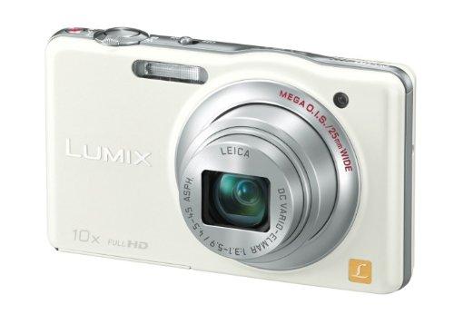 Panasonic デジタルカメラ ルミックスSZ7 光学10倍ホワイト DMC-SZ7-W