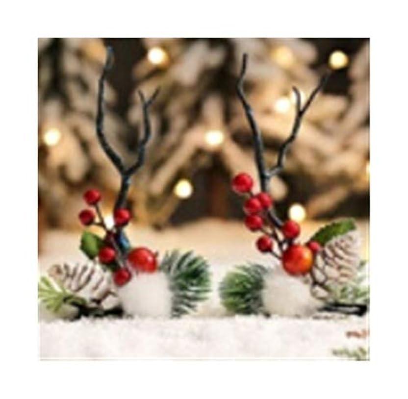 シリーズドアセクションクリスマスヘアピン装身具アントラーズ頭飾りセンエルフスーパー妖精のヘッドバンドクリップヘアアクセサリー大人のヘアピンヘッドバンド (Style : A)