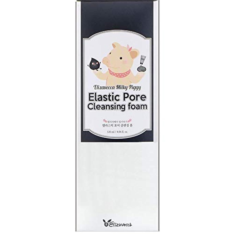 打ち負かす素子解放ELIZAVECCA Elastic Pore Cleansing Foam (並行輸入品)