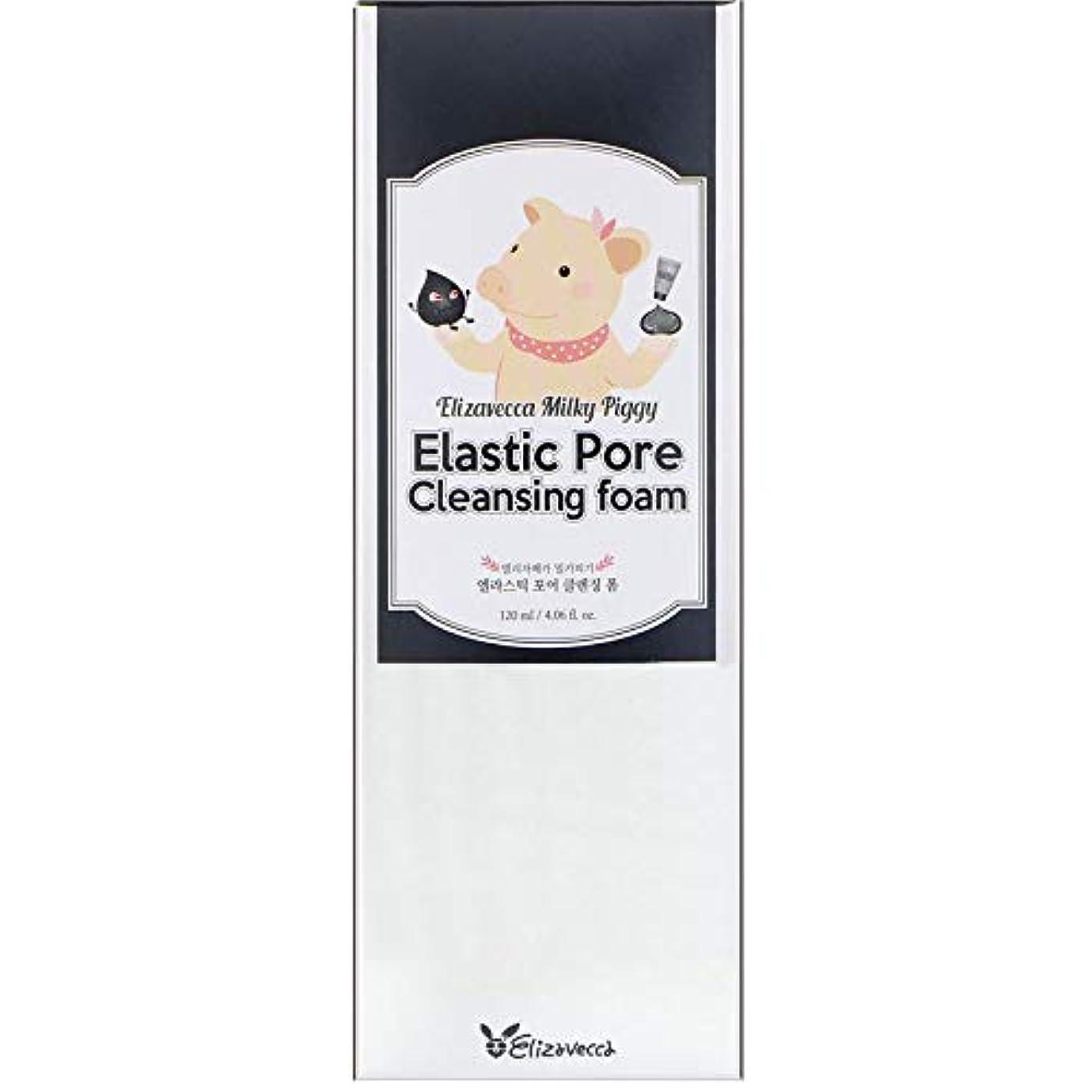 非常に本当のことを言うとメアリアンジョーンズELIZAVECCA Elastic Pore Cleansing Foam (並行輸入品)