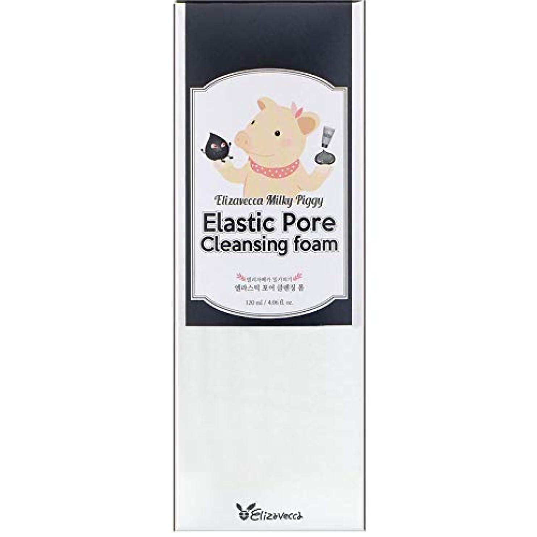 オーバードローエール数学者ELIZAVECCA Elastic Pore Cleansing Foam (並行輸入品)