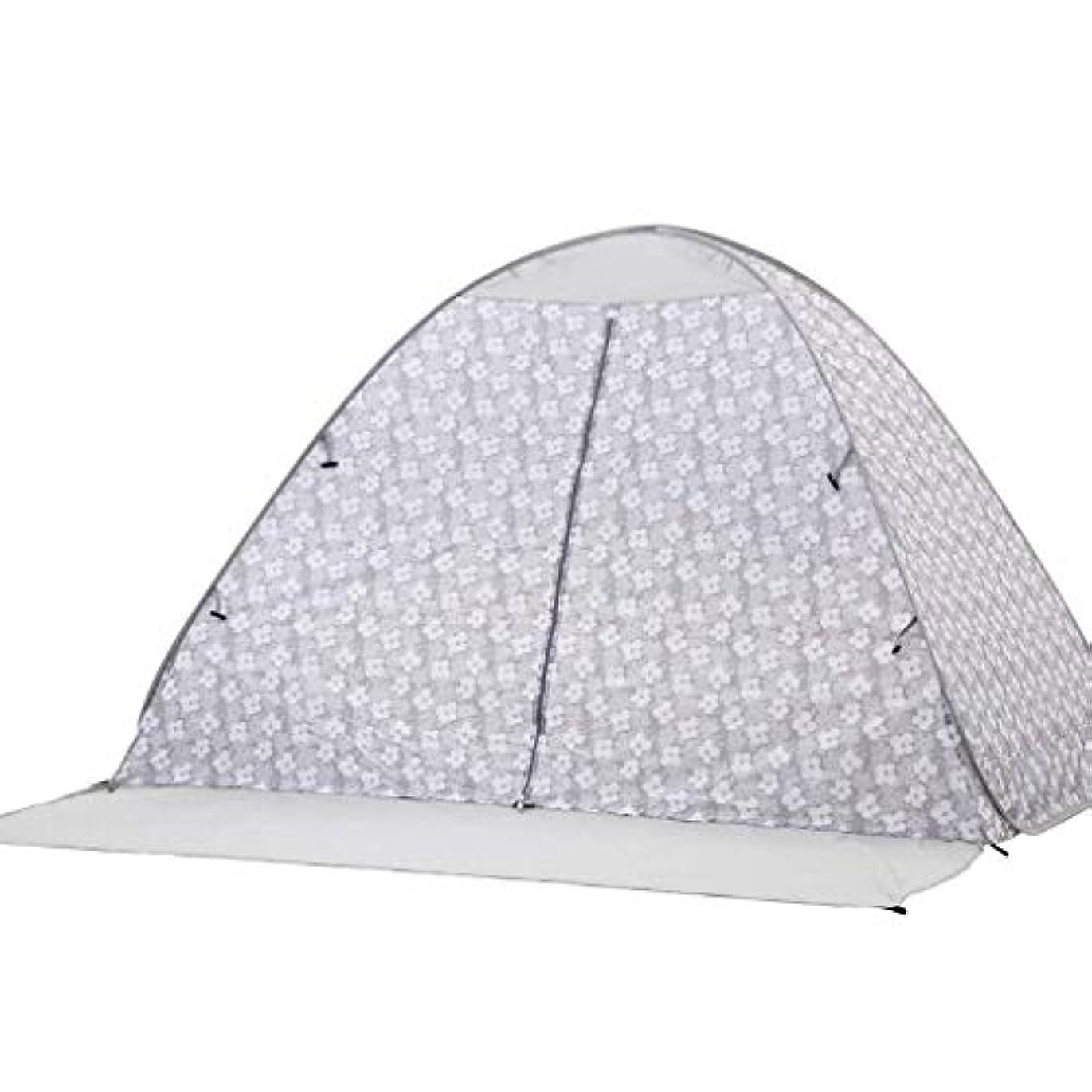 評価可能兄弟愛良性日よけの携帯用防水および雨の日よけの屋外のおおいのテント (Color : Gray)