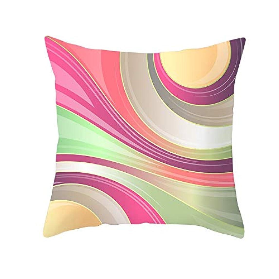 素人ディレクター印をつけるLIFE 装飾クッションソファ 幾何学プリントポリエステル正方形の枕ソファスロークッション家の装飾 coussin デ長椅子 クッション 椅子