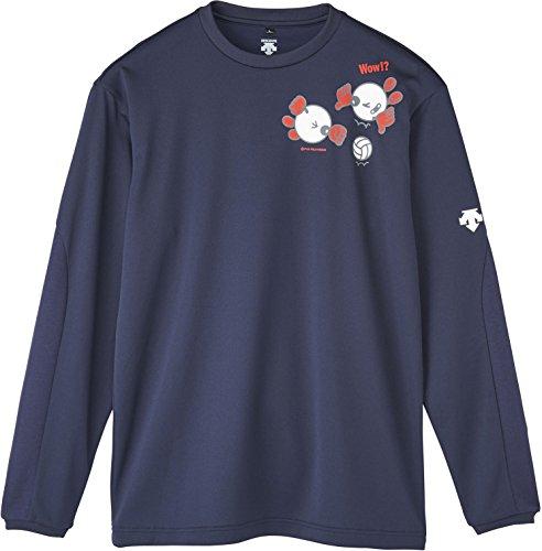 [해외]DESCENTE (데 쌍트) 배구 ??바보 짱 긴팔 사례 셔츠 DVA5740L/DESCENTE (Descente) Volleyball Babo-chan Long-sleeved Practice Shirt DVA 5740 L
