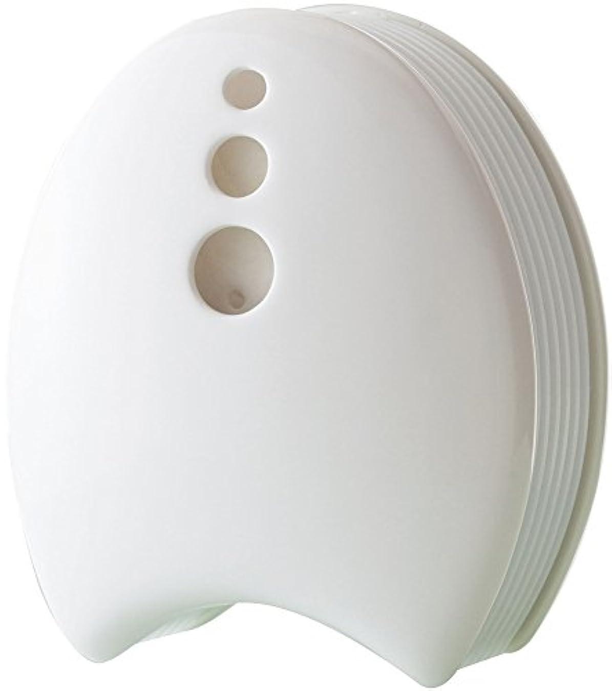 減らす変装したグレー陶器のアロマブリーズ 瀬戸焼 ホ ワイト