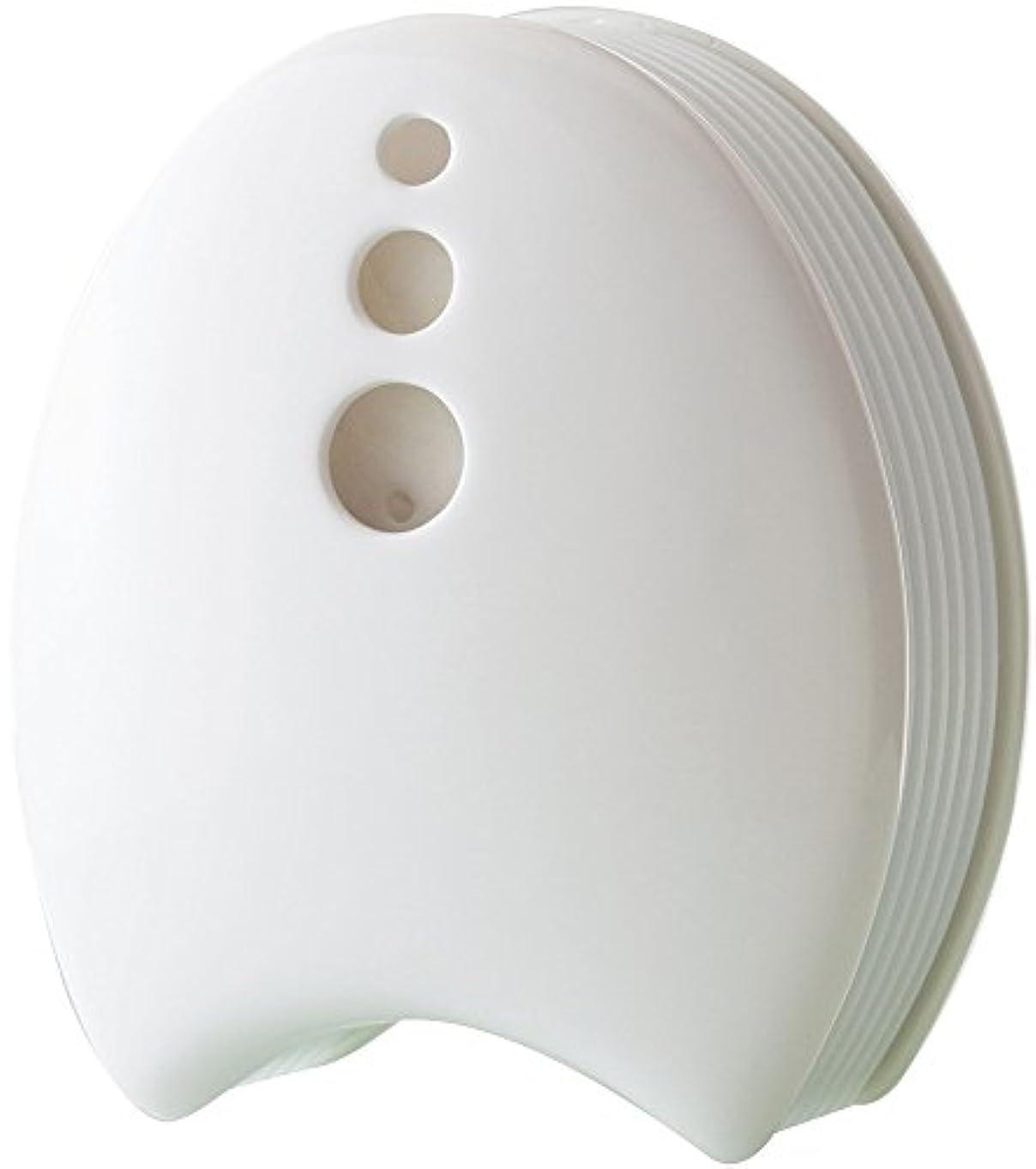 ライラックフォームはっきりと陶器のアロマブリーズ 瀬戸焼 ホ ワイト