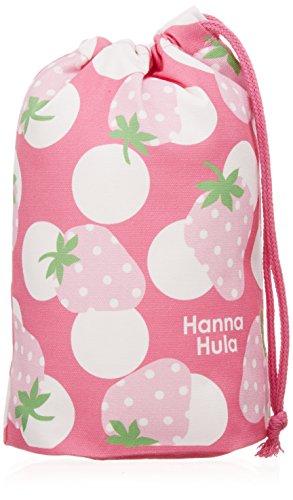 ハンナフラ(Hanna Hula) キッズ コップ袋 いちご ランチシリーズ 日本製 子供用かわいいお弁当グッズ