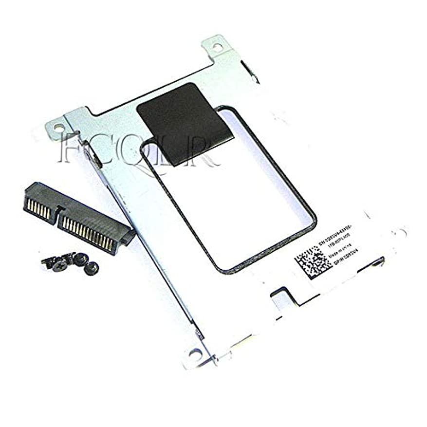 スカリー不規則性ぼかすFCQLR ハードディスクドライブ Interposer ブコネクター +キャディ D80V4 互換性あり にとって Dell E5420 E5520