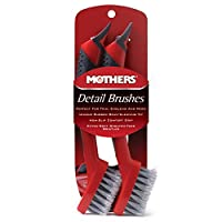 (Inquiries - by email) - Mothers Detail Brush Set - 2 Pack