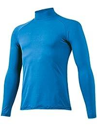 ミズノ ジュニア アンダーシャツ ハイネック 長袖 12JA5P5101 (ブルー(27) , M)