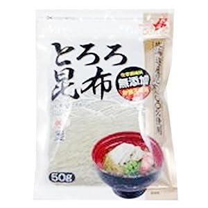下田 北海道産昆布100%使用 無添加とろろ昆布 50g×10袋