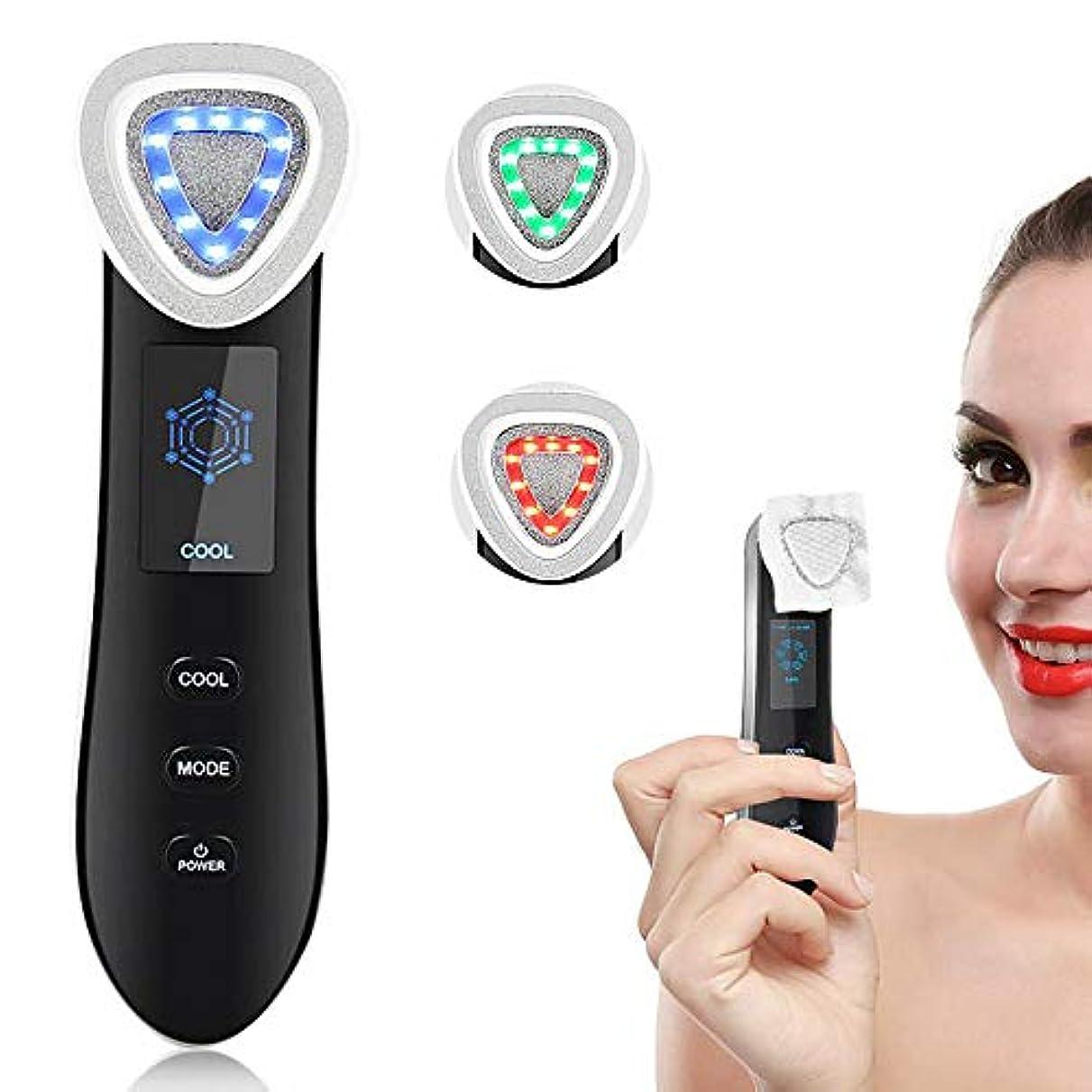 美機械顔の皮 EMS RF の無線周波数 LED の装置のための皮のクリーニングの持ち上がることの若返りのしわの取り外し