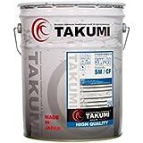 TAKUMIモーターオイル HIGH QUALITY【5W-40】エンジンオイル/ スポーツカー・乗用車・省燃費車 化学合成油(HIVI BASE)20L 【送料無料】