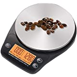 Cooler Pioneer Digital Hand Drip Coffee Scale Stainless precision sensors Kitchen Food Scale With Timer Weight LCD Display &