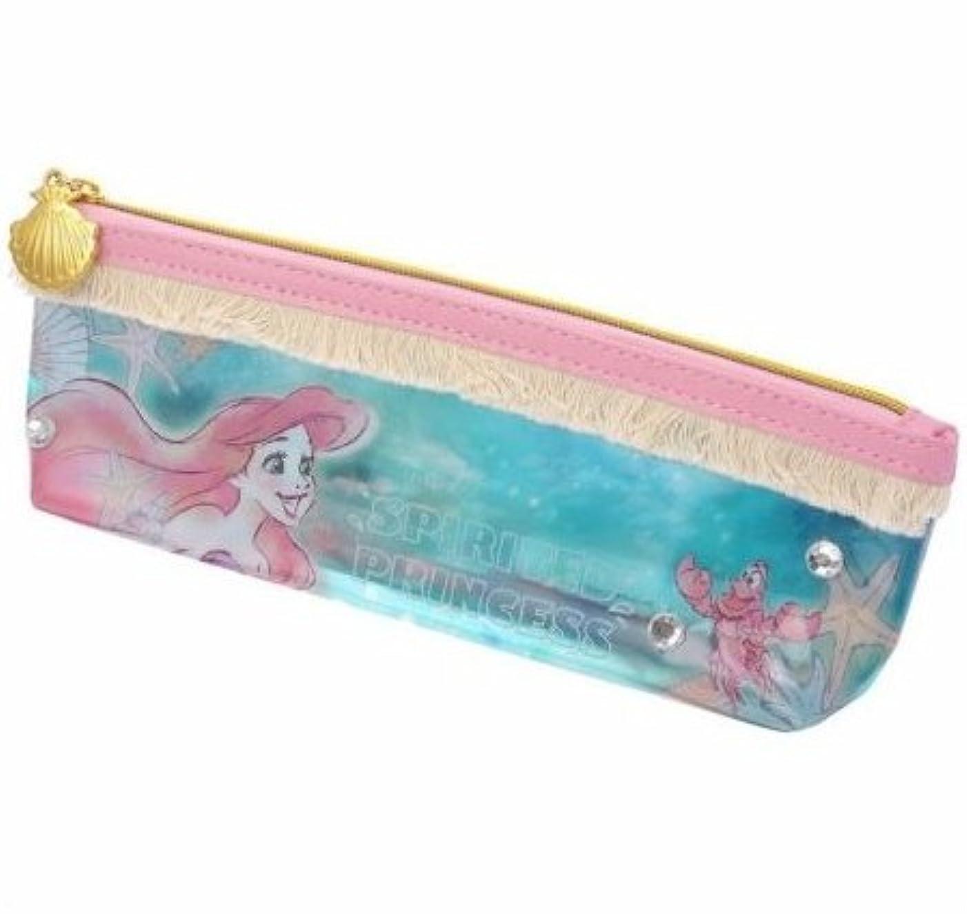 キャプション給料運命的なアリエル Crystal Dream Mermaid 歯ブラシセット ディズニーストア