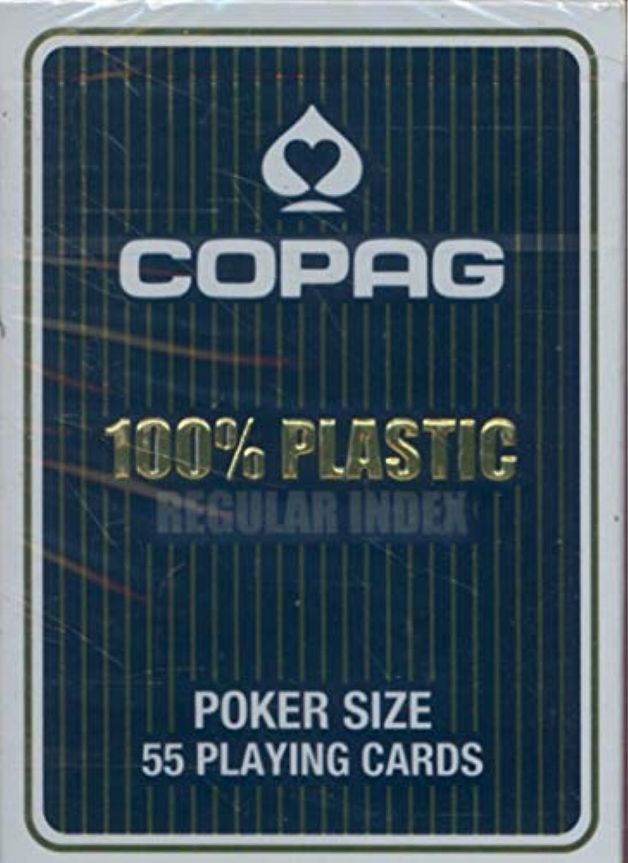 トランプ コパッグ 青 ポーカーサイズ