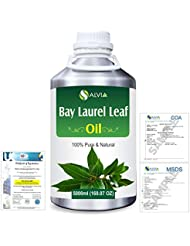 Bay Laurel Leaf (Laurus nobilis) 100% Natural Pure Essential Oil 5000ml/169fl.oz.