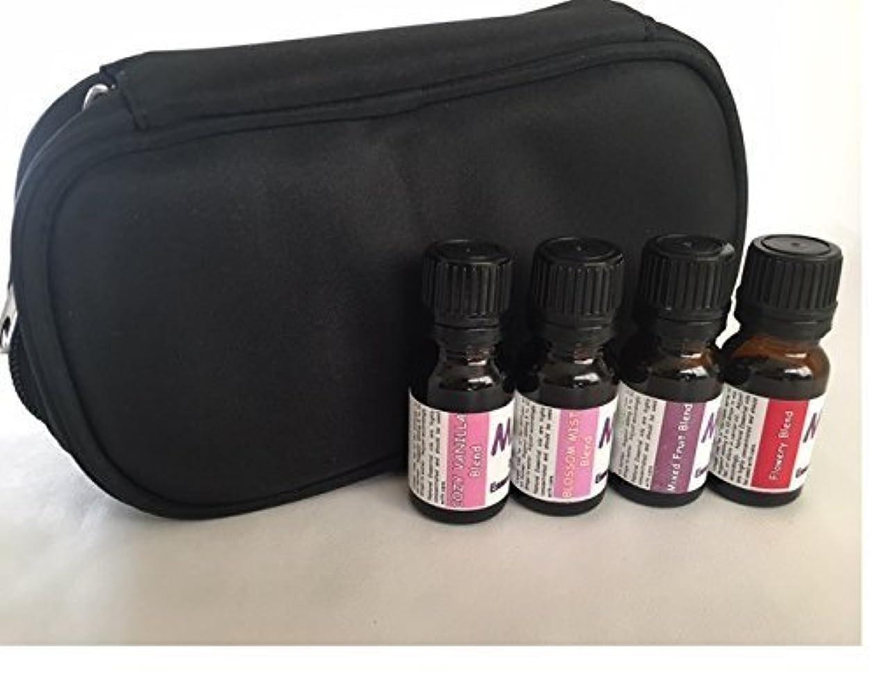 辛な哲学者しっとりAroma Diffuser essential oil blends- CASE with SCENTS FOR HER kit- 100% pure oil [並行輸入品]