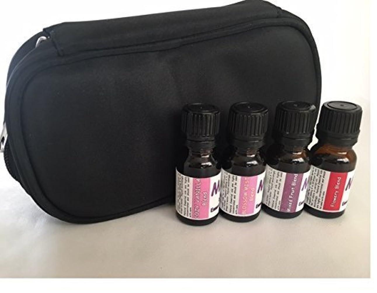 収容する任意歩道Aroma Diffuser essential oil blends- CASE with SCENTS FOR HER kit- 100% pure oil [並行輸入品]