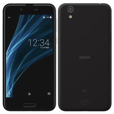 SHARP UQ mobile AQUOS sense SHV40 Velvet Black  (SIMロック解除済み)