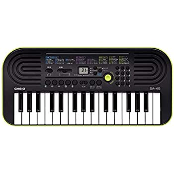 CASIO(カシオ) 32ミニ鍵盤 電子キーボード SA-46 [ミニキーボード]