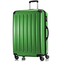 """Hauptstadtkoffer Alex Luggage Suitcase Hardside Spinner Trolley Expandable 28"""" TSA, Green, 75 Centimeters"""