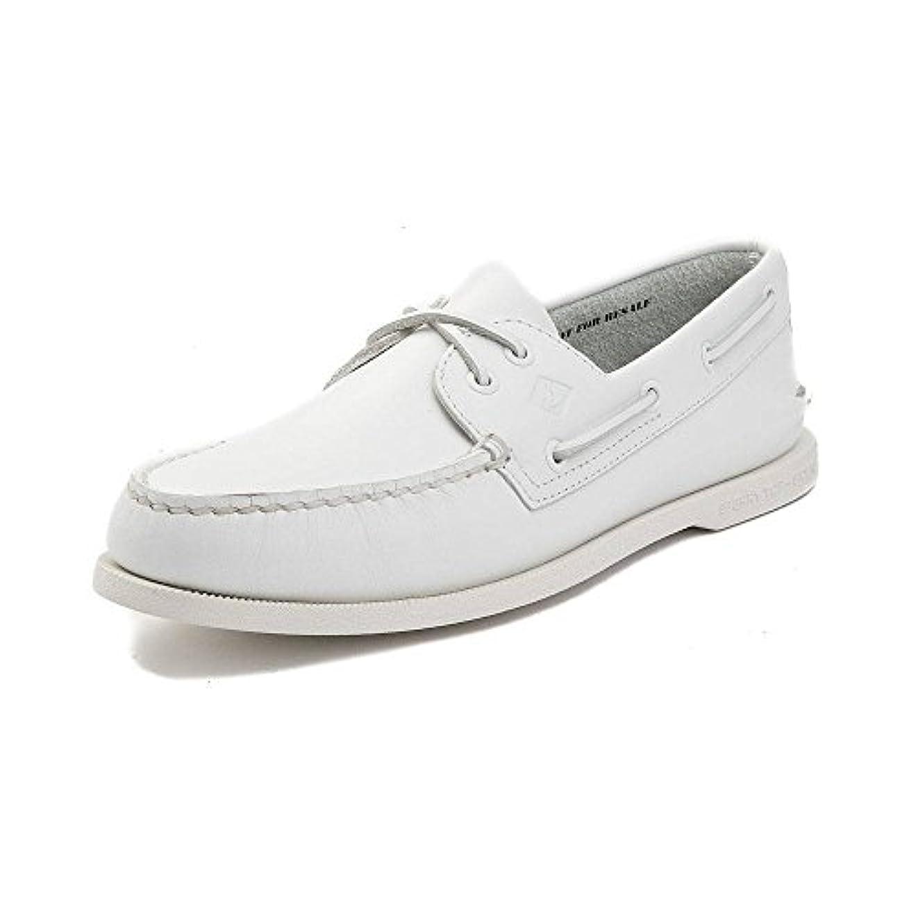 提案する委員長アルネ[SPERRY TOPSIDER(スペリートップサイダー)] 靴?シューズ メンズボートシューズ Mens Sperry Top-Sider Authentic Original Boat Shoe ホワイト US 9.5...