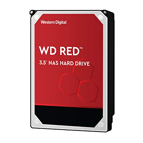 『Western Digital HDD 4TB WD Red NAS RAID 3.5インチ 内蔵HDD WD40EFRX-RT2 【国内正規代理店品】』のトップ画像