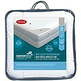 Tontine Comfortech Dry Sleep Waterproof Mattress Protector, King Single