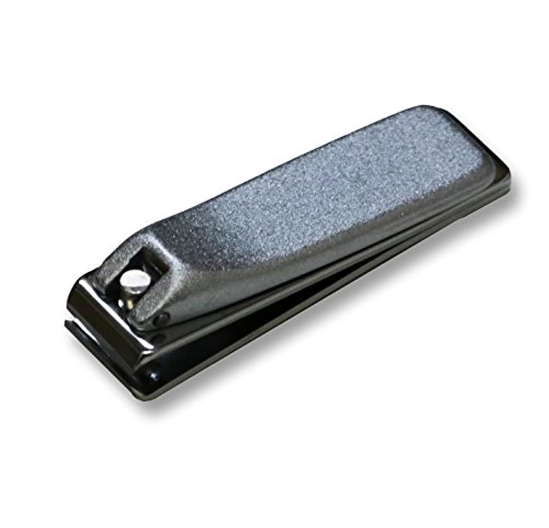 リブ優雅サンドイッチKD-035 関の刃物 クローム爪切 直刃 小 カバー無
