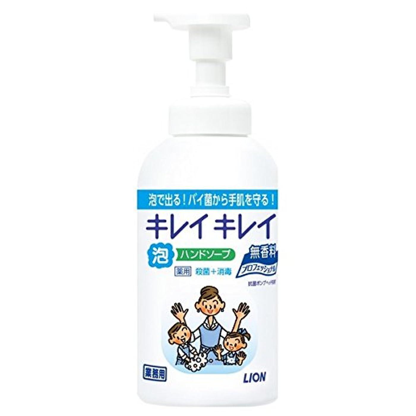 投資混合した削除するライオン キレイキレイ薬用泡ハンドソープ 無香料 550ml×12本入