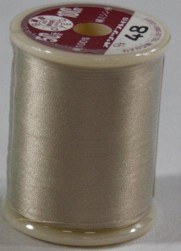オリヅル絹ミシン糸  50番 100m  48