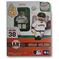 MLB building-toy Figure MLB Player : San Francisco Giants – ブライアン?ウィルソン