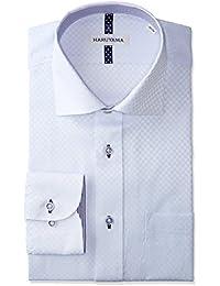 (はるやま)HARUYAMA 形態安定 スタンダードモデル 長袖 セミワイドカラーワイシャツ