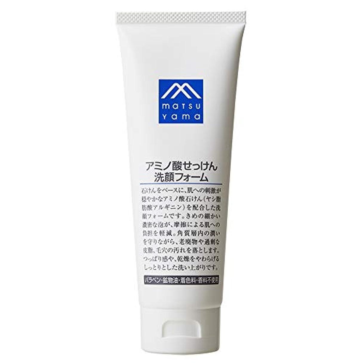 織る親ゴムMマーク(M-mark) アミノ酸せっけん洗顔フォーム 120g