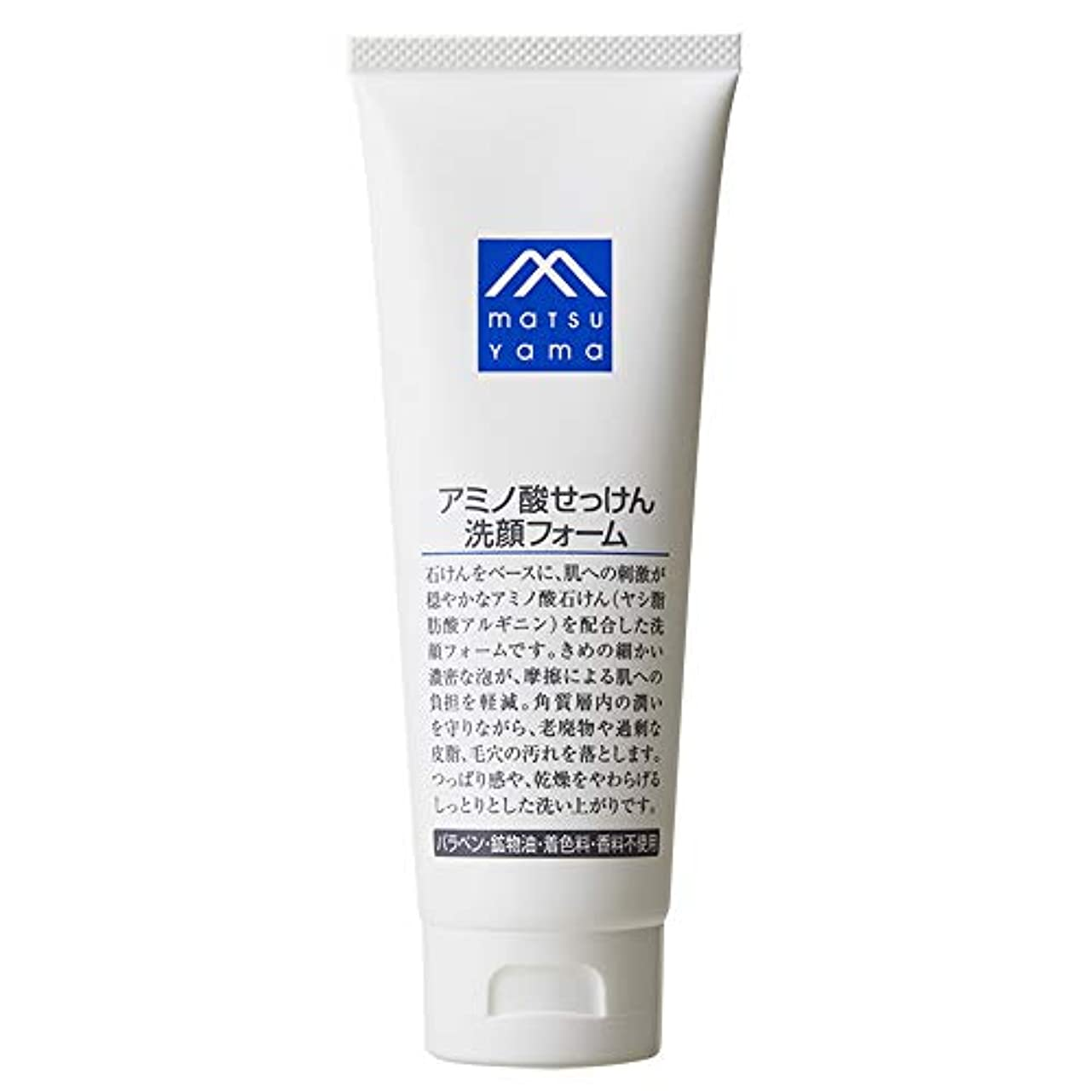共同選択差別する高音Mマーク(M-mark) アミノ酸せっけん洗顔フォーム 120g