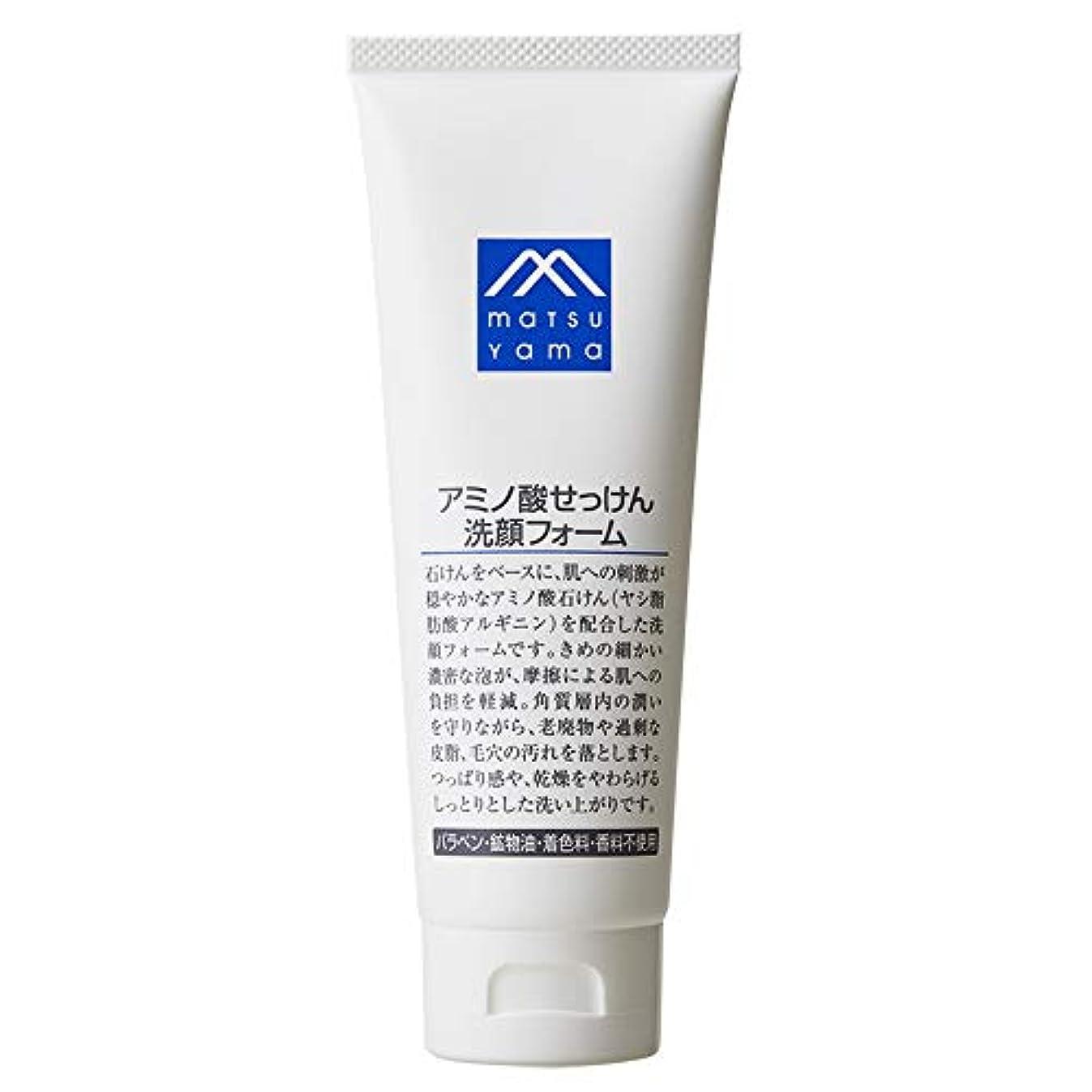 政令対人ユーモアMマーク(M-mark) アミノ酸せっけん洗顔フォーム 120g