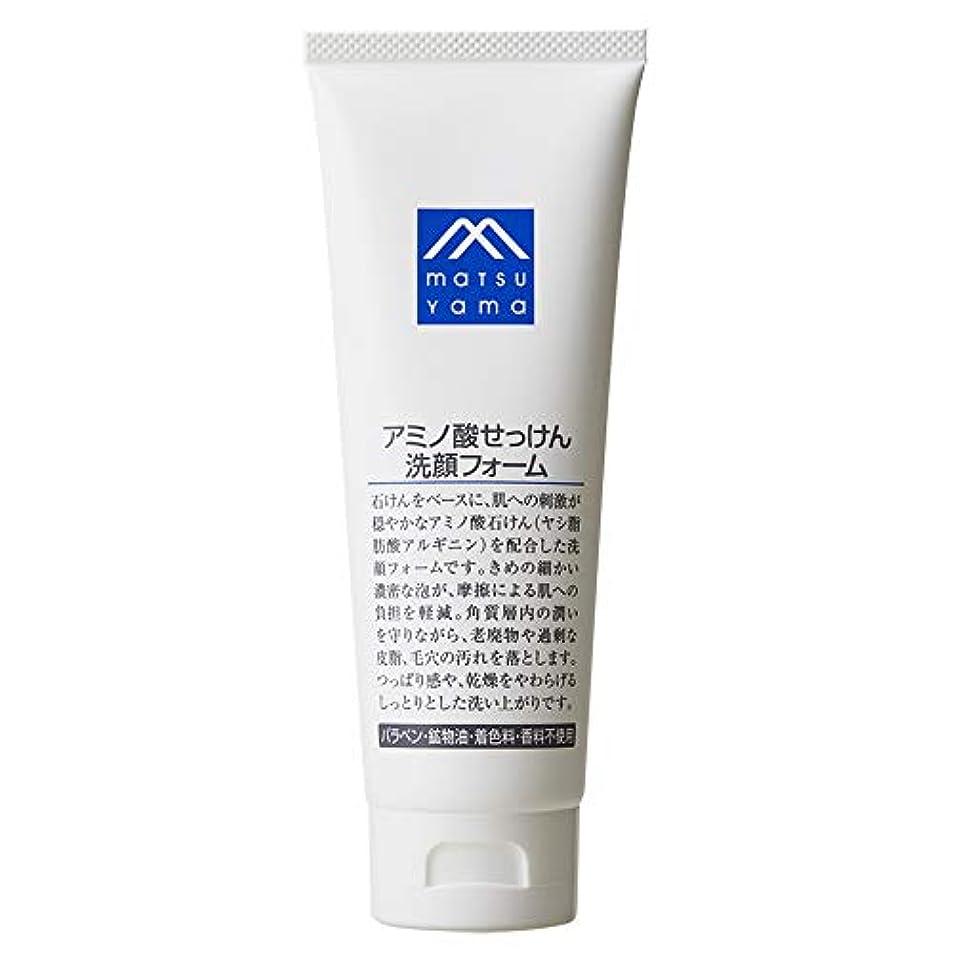 砦ある放送Mマーク(M-mark) アミノ酸せっけん洗顔フォーム 120g