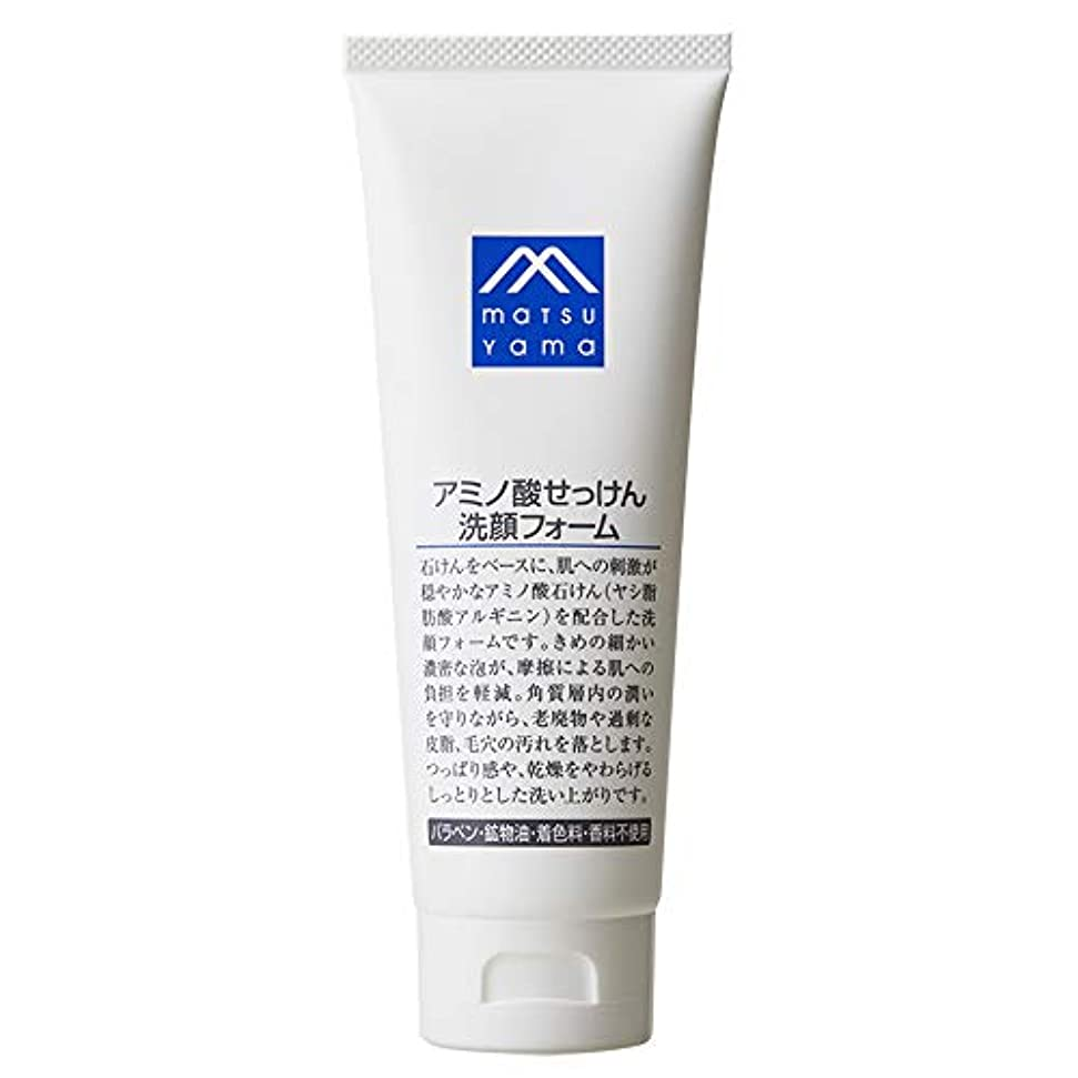 寝具鉄腹部Mマーク(M-mark) アミノ酸せっけん洗顔フォーム 120g