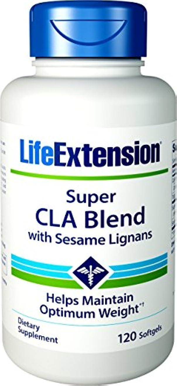 短命小さいスリンク海外直送品Super CLA Blend, 1000 mg, Sesame Lignans 120 softgels by Life Extension